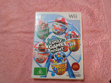 Wii FAMILY GAME NIGHT 3 - CLUEDO TWISTER YAHTZEE LIFE & MOUSETRAP - FAST POST