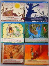 16 CDs - 6 x Fantasy Hörbücher Paket Hörbuch Jugendbuch Drachen Kinder - Neu