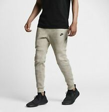 Nike Sportswear Tech Fleece Jogger Khaki/Black Sz L 836416-235 New