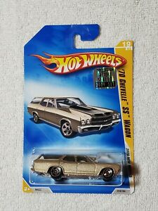2009 HOT WHEELS NEW MODELS 70 CHEVELLE SS WAGON FROM FACTORY SEALED  SET