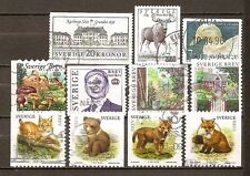 Sweden - 11 diff used 1992-2005