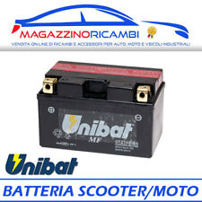 BATTERIA UNIBAT 12V 9AH CTZ10SBS = CTZ10S-BS PER MOTO E SCOOTER