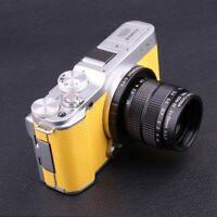 Fujian 35MM f/1.7 CCTV Movie Lens +Adapter(C-FX)+ 2Rings for Fujifilm XA1 XPro1