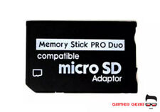 Micro SD TF To Pro Duo Memory Stick Adapter for PSP 3003 3004