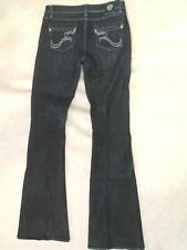 Rock & republic women jean size 29 long exclusively blooming dales flare leg.