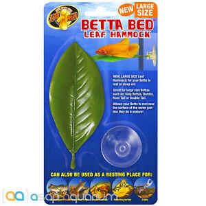 "Zoo Med Betta Bed Leaf Hammock Large 5"""