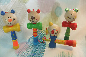 Kaper Kidz Children's Wooden Toy Animal Cup and Ball / Ball in Cup Game!