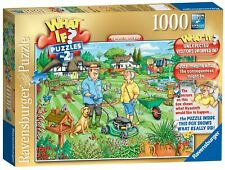 Ravensburger WHAT IF? No. 2 - Open Day in the Garden, 1000pc Jigsaw Puzzle