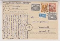 BUND, Mi. 178 u.a. Kassel, 10.8.54