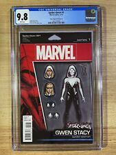 Spider-Gwen #1 (2015 Marvel Comics) John Tyler Christopher JTC Variant CGC 9.8