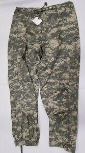 GEN III Level 6 ACU GORE-TEX Trousers/Pants US Military Small-Regular ECWCS NWT