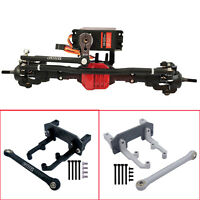 Metal Servo Bracket Upgrade for 1/10 AXIAL SCX10 II 90046 90047 Axle AR44 RC Car
