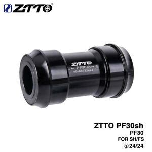 New PF30sh PF30 24mm Bottom Brackets Adapter MTB/Road Bike Press Fit BB For PF30