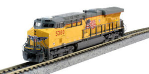 KATO 1768943 N SCALE GE ES44AC Union Pacific #5488 176-8943