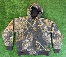 Boys Cabelas Mossy Oak Infinity Jacket Size Large