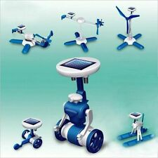NEW Environmental 6 in 1 Solar Powered ROBOT Model DIY Educational Science Kit