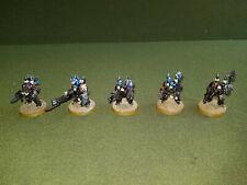 Warhammer 40K Chaos Space Marine Iron Warriors Terminators - Painted