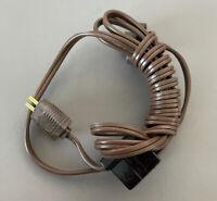 Vintage GC ELECTRONICS Servicemans Cheater Cord Round Prongs TV Repair Part 8948