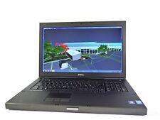 Dell Precision m6800 Quad Core i7 4900mq, 32 Go, 256 Go SSD + 750 go, webcam, w10p