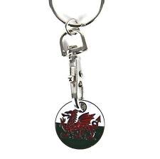 Welsh Dragon Keyring / Trolley Token