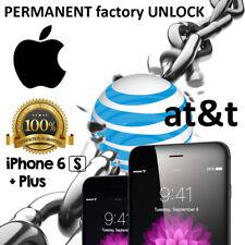 FAST FACTORY UNLOCK SERVICE CODE AT&T ATT IPHONE 4 4S 5 5S 5C SE 6 6S 7 8 X Plus
