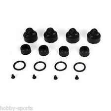 Upper (4) & Lower (4) Shock Caps 22 RTR & 22T RTR New Losi LOSA5006 TLR