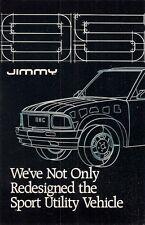 GMC Jimmy 1995 USA Market Mailer Foldout Sales Brochure