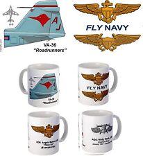 "VA-36 ""Roadrunners"" A-6 Intruder Mug"