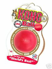 Kong Dog Toy ....... Kongs Solid Durable Rubber Ball - Extreme Bounce - Large