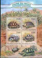 FAUNE OF NIGER 2013 TURTLES  SHEET  MINT NEVER HINGED