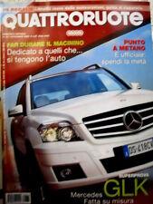 Quattroruote 637 2008 Prova Mercedes GLK. Punto a metano. Volvo CX60 2.4  [Q87]