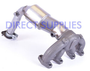 TYPE APPROVED FIAT PUNTO 1.2 8V EXHAUST MANIFOLD CAT
