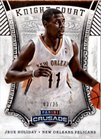 2013-14 Panini Crusade Knight Court Silver #12 Jrue Holiday /25