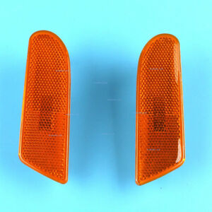 Left and Right Side Marker Bumper Turn Signal Light fit Mercedes W220 S-Class