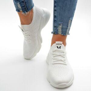 Damen Schuhe Sneaker Sportschuhe S29SCH Ballerina Freizeit Turnschuhe