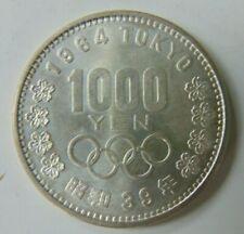 JAPAN 1000 YEN 1964 TOKYO OLYMPICS NICE COIN