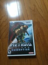 NINTENDO WII METROID PRIME 3 CORRUPTION  Complete In CASE  - Excellent