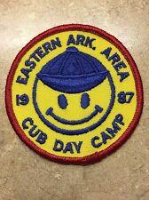 EASTERN ARK. AREA 1987 CUB DAY CAMP BSA PATCH