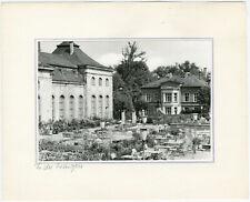 Gotha, In der Orangerie, Orig. Silbergelatine- Foto um 1975