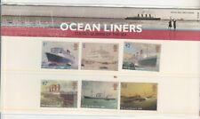 GB 2004 OCEAN LINERS PRESENTATION PACK No. 359 SG 2448-2453 MINT STAMP SET