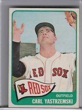 1965 TOPPS #385 CARL YASTRZEMSKI BOSTON RED SOX HOF 1197A