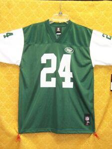 Darrelle Revis JERSEY Home GREEN New York JETS Reebok NFL Football NWT New $50