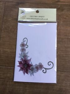 Dolly Dimples Christmas Bouquet Stamp 2020 Collection