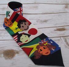 St. Jude Childrens Research Hospital Flag 100% Silk Mens Necktie #302B