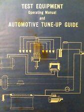 Test Tools Equipment & Automotive Tune-Up Procedures