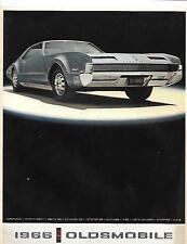 Oldsmobile folleto de ventas de gama completa de EE. UU. 1966