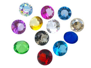 Crystal Diamond Paper Weight, EIMASS® Glass Crystals, Home Decor Office Display