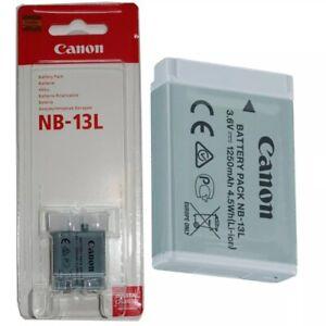 Original Canon NB-13L Li-Ionen-Akku für Canon PowerShot G7X , G9X , SX620 HS NEU