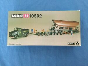 Kibri HO 10502 Bausatz mit Kaelble Zugmaschine in OVP / teilgebaut