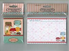 Crownjewlz Kitchen Collection Mason Jar Magnetic Purse Notepad & Recipe Cards
